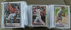 2021 Bowman Base Team Sets. You Pick Free Ship Veterans and Rookie #1 #100