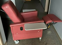 Champion Manual Recliner Chair, Series 54, For Dialysis,orthopedics, Pre/post Op
