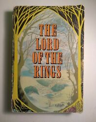 J.r.r. Tolkien, The Lord Of The Rings, First 3-1 Edition 1968, 1st Printing