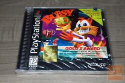 Bubsy 3d Playstation 1 Ps1 1997 Factory Sealed - Ultra Rare