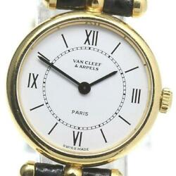 And La Collection Quartz K18yg Ladies Watch From Japan [b0606]