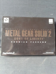 Ps2 Metal Gear Solid 2 -sons Of Liberty- Premium Package Neuf/factory Sealed