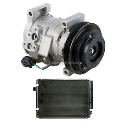 For Cadillac Cts 2004-2007 Oem Ac Compressor W/ A/c Condenser And Drier Gap