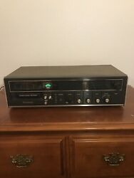 Vintage Panasonic 8 Track Stereo Am Fm Recorder Re 8125 For Parts
