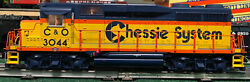 O Scale Lionel 6-28559 Chessie Gp-30 Diesel Locomotive With Legacy
