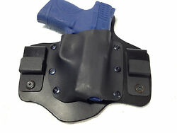 Right Hand Draw Iwb Holster Kydex And Leather Conceal Carry Mto