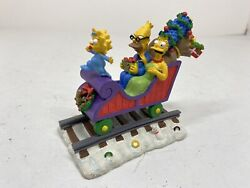 The Simpsons Hamilton Christmas Express Train All Aboard For The Holidays Marge