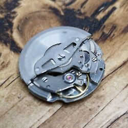 Seiko 6105a Automatic Watch Movement For Parts Good Balance Htf S92