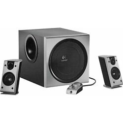 Logitech Z-2300 2.1 Thx Computer Speaker And Subwoofer System Works Perfectly