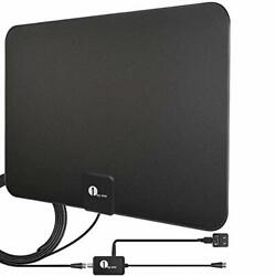 Hd Digital Tv Antenna - Support 4k 1080p And All Older Tv's Indoor S Amplified