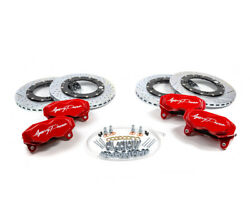 Agency Power Big Brake Kit Front-rear Red For Can-am Maverick X3 Turbo