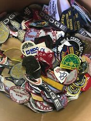 Vintage Patch Lot 100 Patches Nasaautomotiveadvertisementsportsmilitary Rare