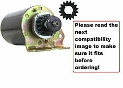 16 Tooth Starter Motor For John Deere And Scott's Lawn Briggs And Stratton Engine