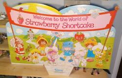 Vintage 1981 Welcome To The World Of Strawberry Shortcake Kenner Store Display