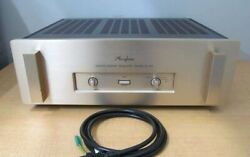 Accuphase Power Amplifier P-350 Ac100v Working Properly C1721