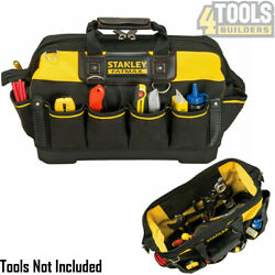 Stanley 1-93-950 18 Fatmax Technician Tool Bag With Shoulder Strap Sta193950