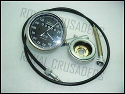New Smith Replica Speedo 0-120mph + 66cable + Hub Drive @justroyal