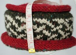 Old Bushmills Irish Whiskey Unisex Knit Bucket Hat By Dyed In The Wool Co., Euc