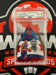 2018 Panini Crown Royale Kevin Knox Psa 10 Gem Mint Mambaand039s Choice Red And039d 45/75