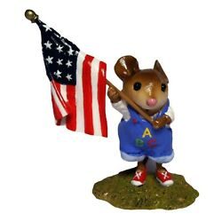 Wee Forest Folk Special Color Abc Pledge With Flag Sold Out