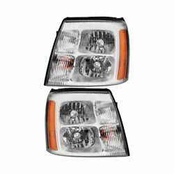 For Cadillac Escalade Esv And Ext Pair New Left Right Headlight Assembly Gap