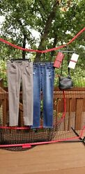 Vintage S/m Clothing And Purse Lot Calvin Klein Abercrombie
