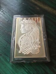 5 Oz Silver Bar - Pamp Suisse Fortuna - In Capsule W/assay - In Stock