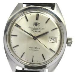 Yacht Club Date Turler Cal.8541 Self-winding Stainless Menand039s Watch [b0609]