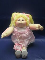 Rare 1984 Cabbage Patch Doll W/ Cloth Body And Tags - Must See Les