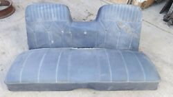 1965 1966 Mercury 2dr Hardtop Back Seat Assembly Original Fomoco Ford Galaxie