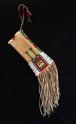 Cheyenne Style Medicine Bag. Rustic And Eloquent