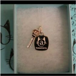 Very Rare And Co. Cat Street Limited Key Charm Set Silver Unused Cute