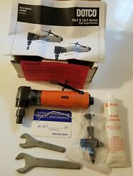 Dotco 1/4 Collet Angle Handle Air Angle Die Grinder 20000 Rpm Front Exha...