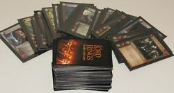 Lord Of The Rings Trading Card Game Lot 137 Cards Foil Tcg 2002 - 2004 Decipher