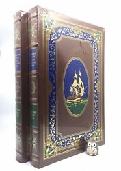 Easton Press Captain Cook's Voyages Anderson 2v Leather Deluxe Limited Sealed
