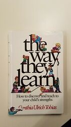 Signed The Way They Learn By Cynthia Ulrich Tobias 1994 Hc First Edition 1st