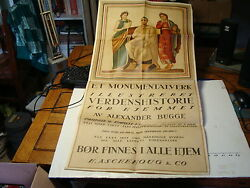 1920and039s Original Poster Promoting An Encyclopedia Shows Greece