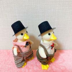Unused Sylvanian Families Duck Family Duck Dad Set Doll Figure Very Rare
