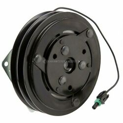 6 152mm 2-groove A/c Clutch W/ 12v 2-wire Switch For York Ac Compressor Gap
