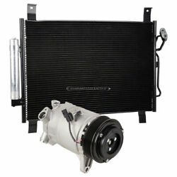 For Nissan Pathfinder And Infiniti Qx60 Ac Compressor W/ A/c Condenser And Drier Gap