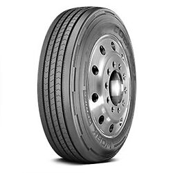 Cooper Set Of 4 Tires 255/70r22.5 L Work Series Rht All Season / Commercial Hd
