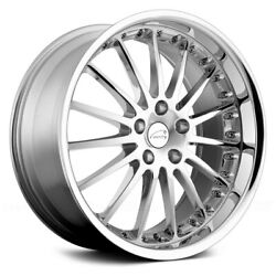 Coventry Whitley Wheels 18x9.5 25, 5x108, 63.4 Chrome Rims Set Of 4