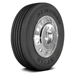 Sumitomo Set Of 4 Tires 245/75r22.5 L St719 All Season / Commercial Hd