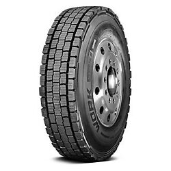 Cooper Set Of 4 Tires 42x11r22.5 L Work Series Awd All Season / Commercial Hd