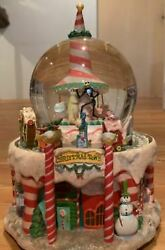 Disney Nightmare Before Christmas Snow Globe Snow Dome Large Type Made In Japan