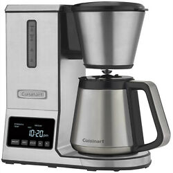 Cuisinart Pureprecision 8-cup Pour-over Coffee Brewer W Thermal Carafe Cpo-850