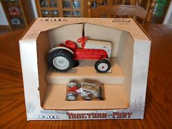 Vintage 1987 Ertl 116/143 Tractors Of The Past Ford 8n Set, No. 867, Used