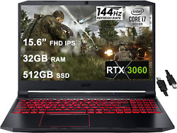 Acer 2021 Flagship Nitro 5 Gaming Laptop 15.6andrdquo Fhd Ips 144hz Display 10th Gen