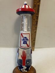 Pbr. Pabst Blue Ribbon Ufo Draft Beer Tap Handle. Milwaukee, Wisconsin