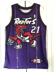 Vintage Toronto Raptors Marcus Camby Authentic Nike Jersey Size 42